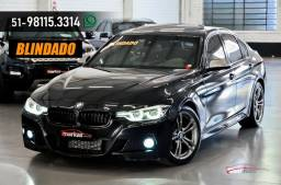 BMW 320i 2.0 M SPORT 184HP TETO BLINDADA CASCO 38 MIL KM 4P