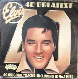 LP / Vinil / Disco - Elvis Presley: 40 Greatest (Duplo) (Importado)
