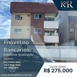 Título do anúncio: Apartamento com 3 dormitórios à venda, 82 m² por R$ 275.000,00 - Bancários - João Pessoa/P