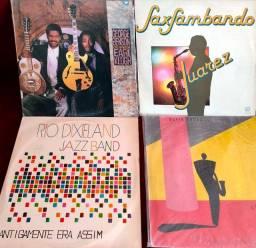 4 discos LP vinil Jazz George Benson Rio Jazz Band