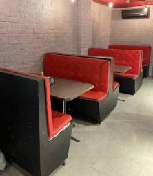 Sofás para restaurante/lanchonetes
