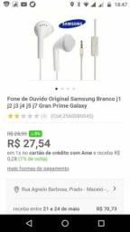 Samsung fone de ouvido novo