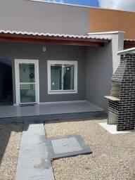 Excelente Casa Plana Nova A 10min De Messejana