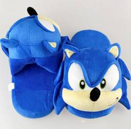 Pantufa Sonic The Headhog Sega Mega Drive