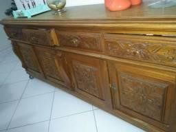 Conjunto colonial- madeira de lei- raridade