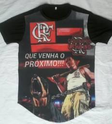 Camisas long lines! uma por 35 duas por 60 reais