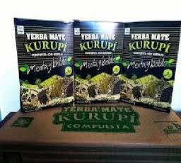 Caixa de Erva Paraguaia Kurupi 500g (caixa com 12)
