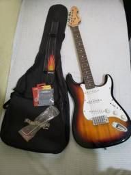 Guitarra Strato Vogga Sunburst