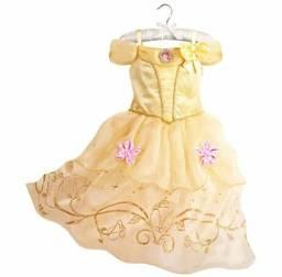 Vestido fantasia infantil Bela entrega grátis em toda baixada