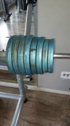 Anilhas de ferro - R$4.20 o kilo