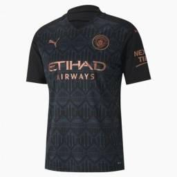 Camisa Manchester City II 20/21 - Torcedor Puma Masculino - azul escuro