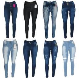 Calça jeans feminina com lycra, direto da fábrica