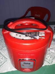 Panela de arroz philco vermelha