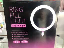 Ring Light completo com tripé de 1.60 metros