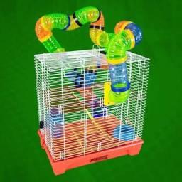 Gaiola Grande para Roedor Hamster