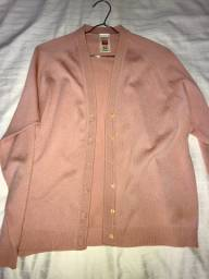 Casaco rosa claro st michael feito no reino Unido (veste M)