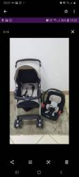 Carrinho e Bebe conforto Burigotto