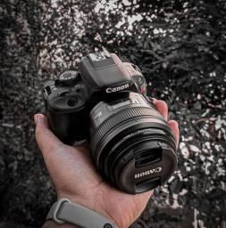 Canon SL1 Kit + YN 85mm f1.8 + Flash Canon