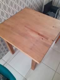 Vendo Mesa de Madeira + Cadeira