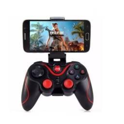 Controle Para Celular Bluetoth Tablet Tv Pc Para Jogos