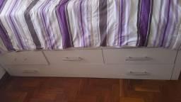 Cama Solteiro com colchão... 3 Gavetas + Cama embutida