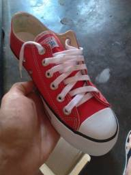 All star vermelho 37