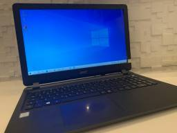 Notebook Acer ES1-572 - 120Gb SSD - HD 1TB - DDR4 8GB 2400Mhz - 12x SEM JUROS