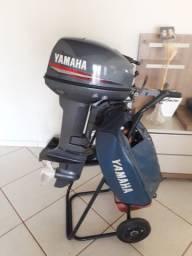 Motor de polpa Yamaha 15HP Ano 2008 Seminovo