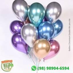 Balões Chromium Double Mix pra chá