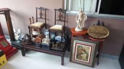 Antiguidades de decoração para vitrine de lojas ou decoração de lojas