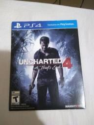 Uncharted 4 jogo play 4