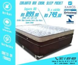 ::: CONJUNTO Sleep Pocket Casal em até 10x SEM JUROS