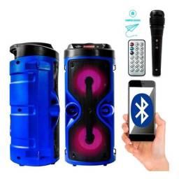 Caixa De Som Bluetooth Grasep Portátil Amplificada Pen Drive