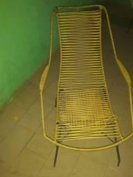 Cadeira de ferro maciço