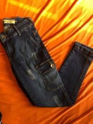 Calça Ousada Trademark jeans feminina