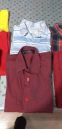 Lote de roupa menino