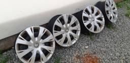 Jogo Rodas de Ferro Original Peugeot