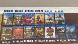 Jogos PS4 apartir de 50 reais