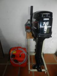 Motor Mercury 15 HP Super - Amaciando