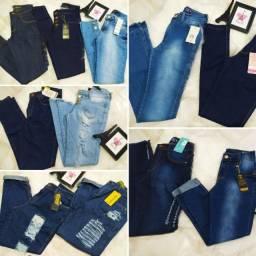 Calça jeans roupa feminina