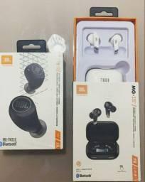 Fone de ouvido earphones true wireless JBL bluetooth 5.0 funções touch