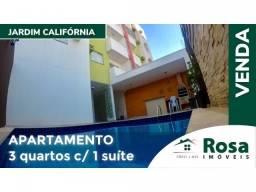 Apartamento à venda com 3 dormitórios em Jardim california, Cuiaba cod:17362