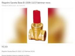 Registro Gaveta Base B-1509-11/2 Fabrimar novo