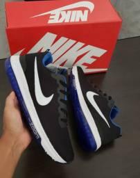 Nike zoom preto/azul