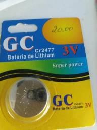 Bateria de lithium cr2477 nova