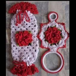 Kit em crochet 35$