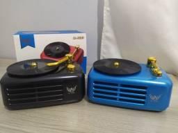 Caixa de Som Usb Bluetooth Vitrola - Som De Boa Qualidade