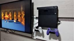 Suporte de parede para PS4 e Xbox One