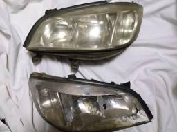 Par de faróis originais Chevrolet Zafira