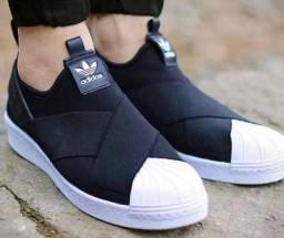 Tênis Adidas Slip On Casual Perfeito